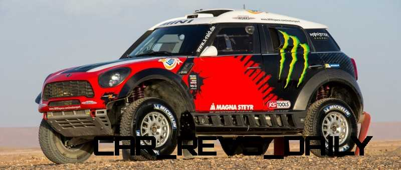 MINI Poised for Dakar Three-Peat with All4 Countryman Squad 41