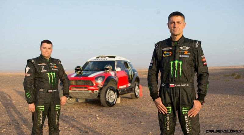MINI Poised for Dakar Three-Peat with All4 Countryman Squad 44