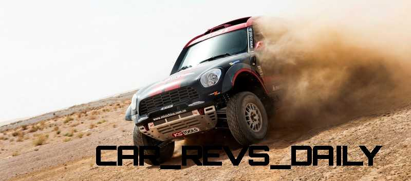 MINI Poised for Dakar Three-Peat with All4 Countryman Squad 46