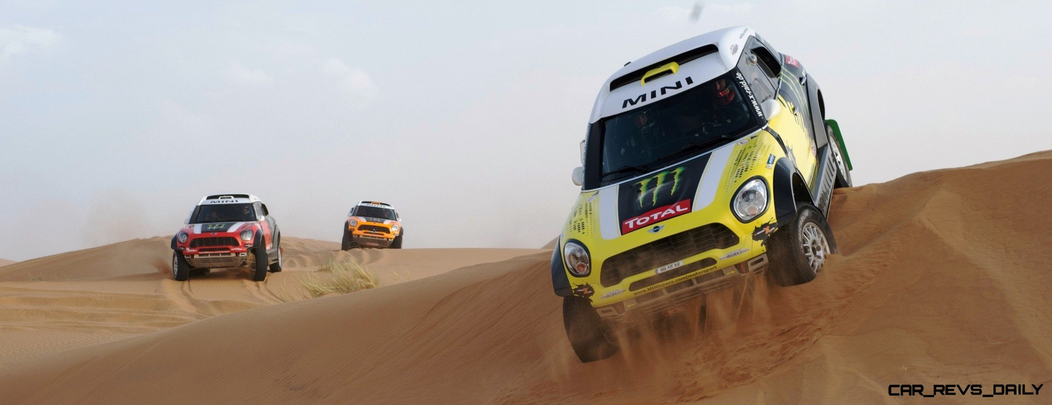 MINI Poised for Dakar Three-Peat with All4 Countryman Squad 48