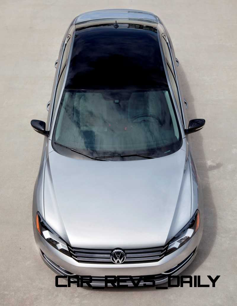 Passat Sport New-for-2014 with Black Roof, 1.8L Turbo and 19-in Luxor Wheels From $27k 12