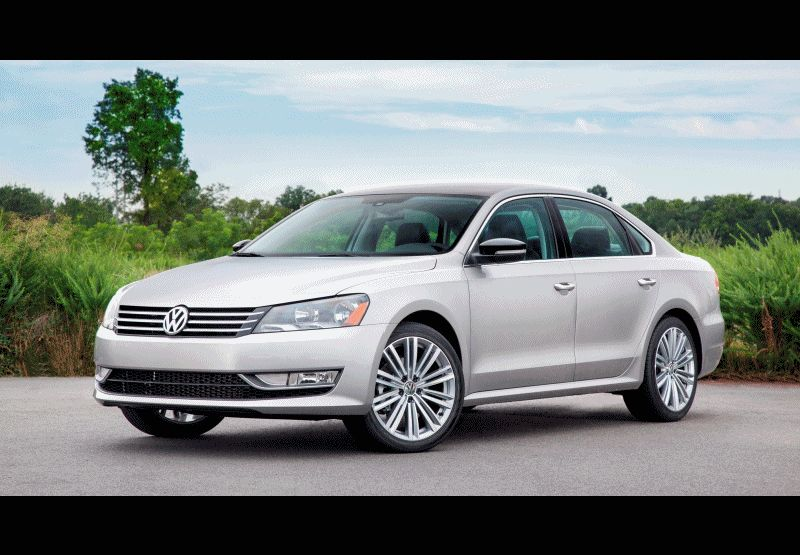 Passat Sport New-for-2014 with Black Roof GIF