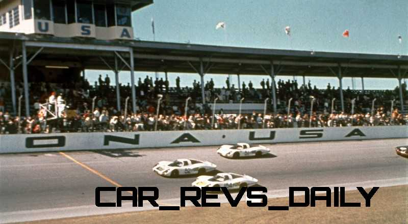 Porsche 917s at Daytona
