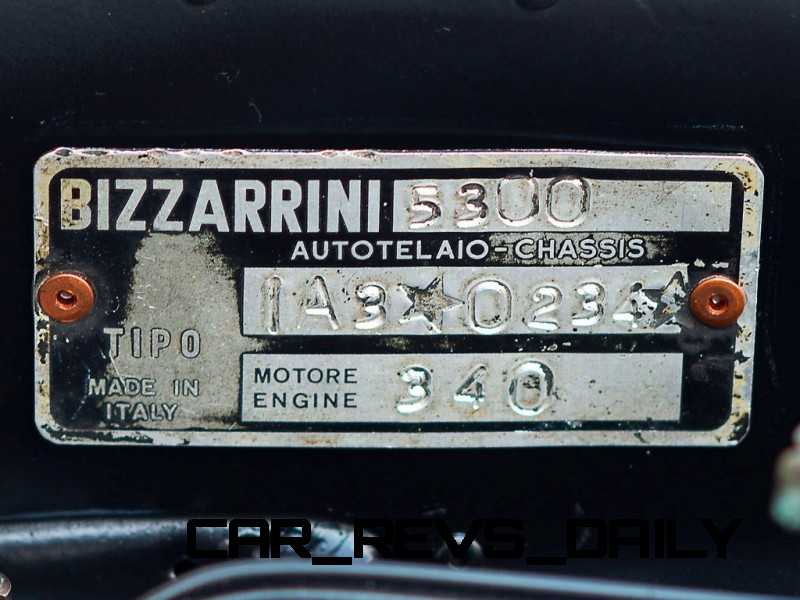 RM Auctions 1965 Bizzarinni Strada Alloy 6