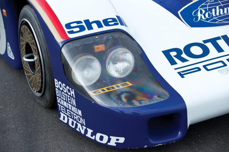 RM Auctions Paris Feb 2014 - 1982 Porsche 956 Group C Sports-Prototype 9