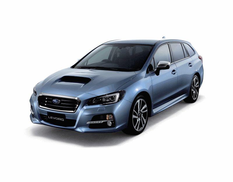 Subaru LEVORG Concept -0 CarRevsDaily.com GIF