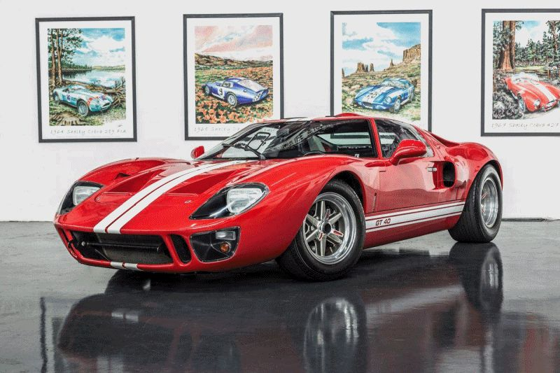 Superformance Ford GT40 Showcase Animated GIF