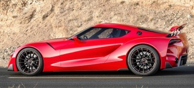Surprise! Drop-Dead Sexy Toyota Supercar Playable in GT6 and Previewing SUPRA 16