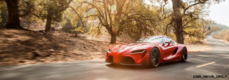 Surprise! Drop-Dead Sexy Toyota Supercar Playable in GT6 and Previewing SUPRA 2