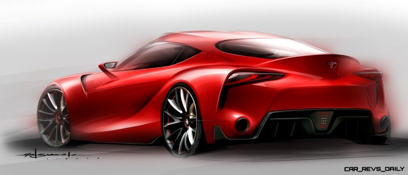 Surprise! Drop-Dead Sexy Toyota Supercar Playable in GT6 and Previewing SUPRA 20