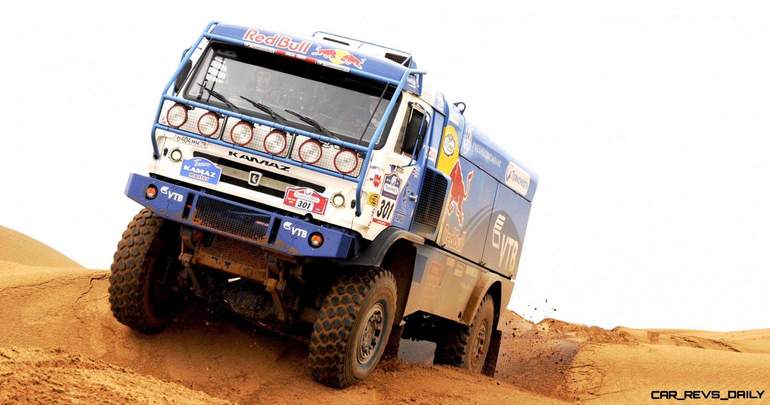 Unimog Nemesis - Red Bull KAMAZ 4911 - Dakar T4 Hero  11