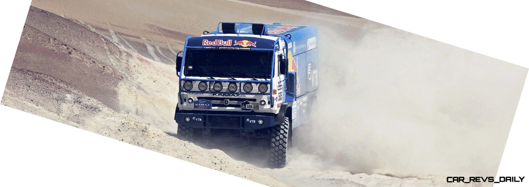 Unimog Nemesis - Red Bull KAMAZ 4911 - Dakar T4 Hero  12