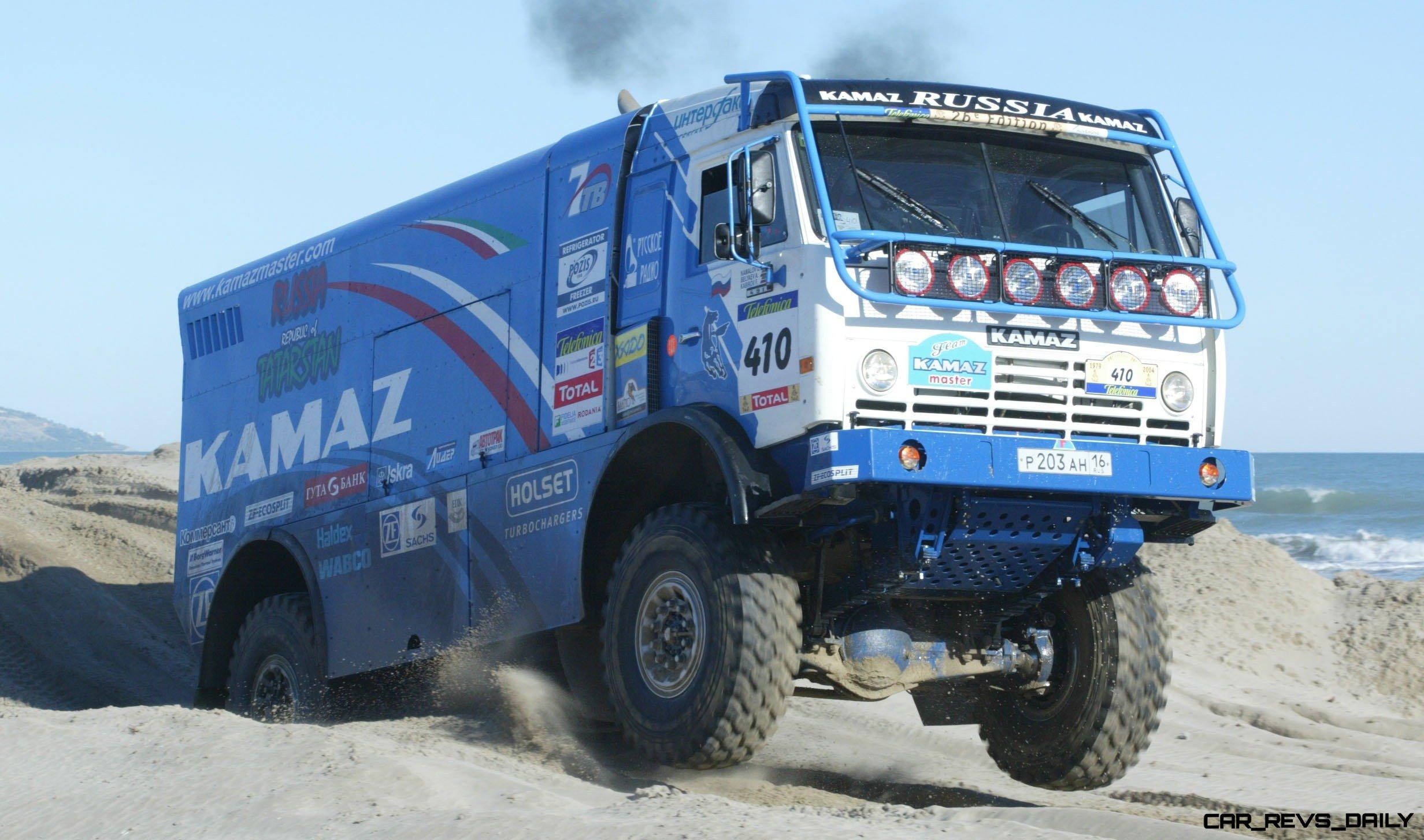 Unimog Nemesis - Red Bull KAMAZ 4911 - Dakar T4 Hero  28