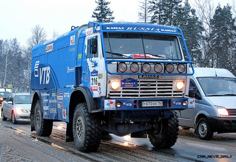 Unimog Nemesis - Red Bull KAMAZ 4911 - Dakar T4 Hero  30