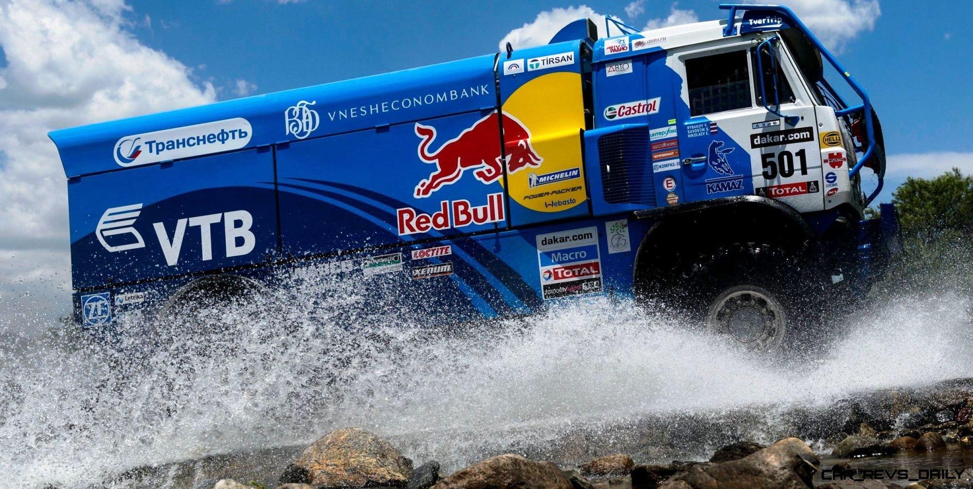 Unimog Nemesis - Red Bull KAMAZ 4911 - Dakar T4 Hero  45