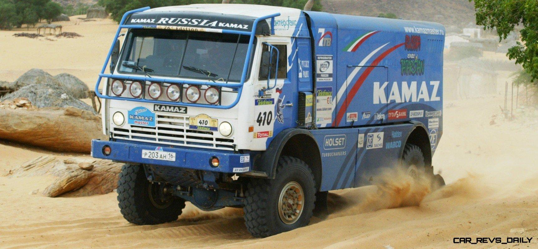 Unimog Nemesis - Red Bull KAMAZ 4911 - Dakar T4 Hero  46