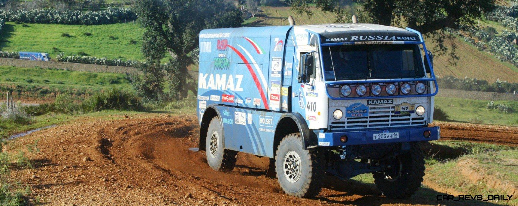 Unimog Nemesis - Red Bull KAMAZ 4911 - Dakar T4 Hero  47