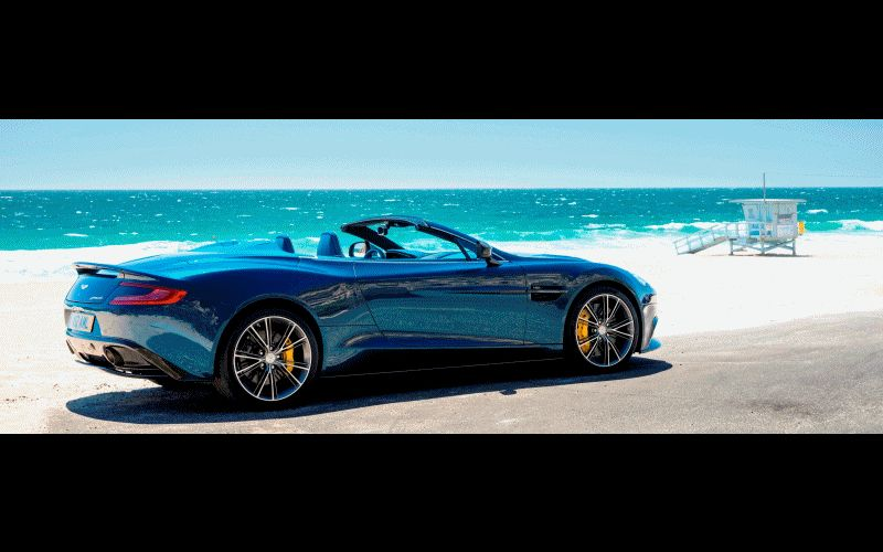 Vanquish Coupe and Volante Animation