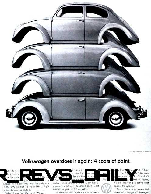 Visual Humor and Lavish Color Saved the VW Beetle in America 14