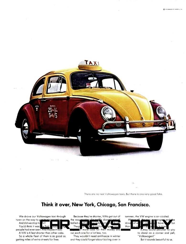 Visual Humor and Lavish Color Saved the VW Beetle in America 18