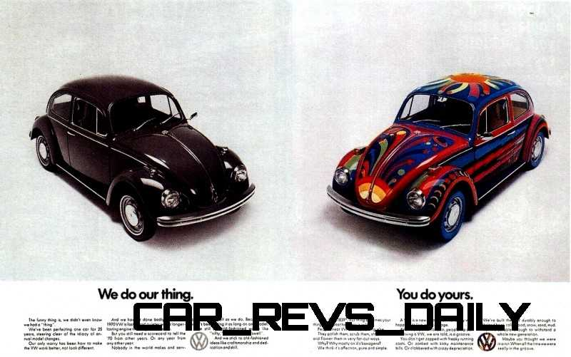 Visual Humor and Lavish Color Saved the VW Beetle in America 45