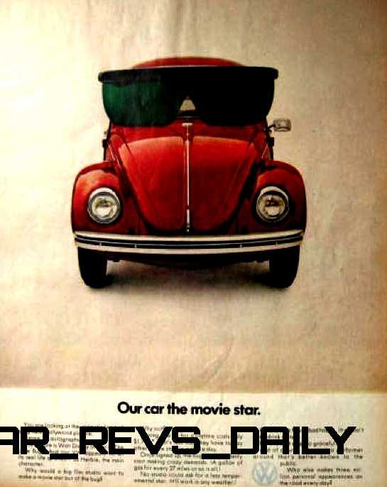 Visual Humor and Lavish Color Saved the VW Beetle in America 48