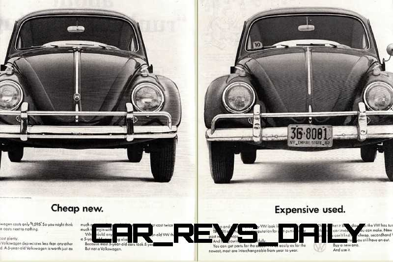 Visual Humor and Lavish Color Saved the VW Beetle in America 8