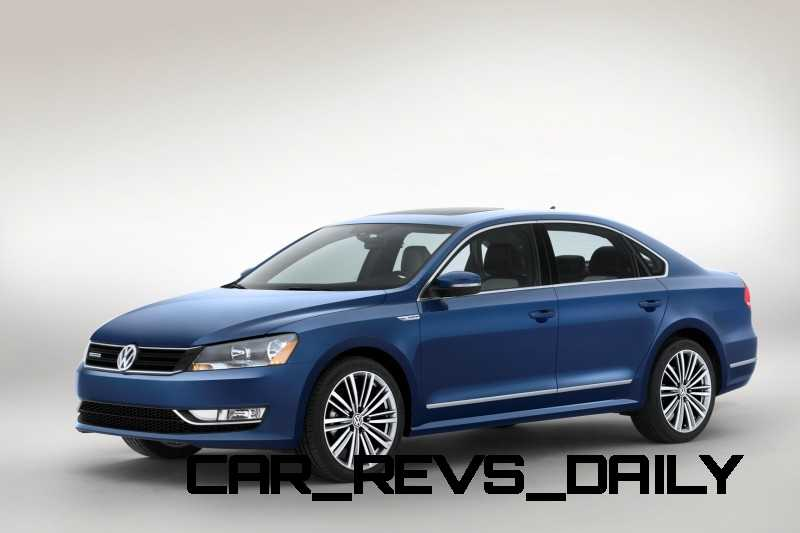Volkswagen Passat Blue Motion Concept 1