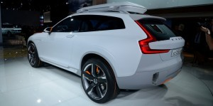Volvo XC Coupe Concept Looking Ready for Summit County, Colorado 10
