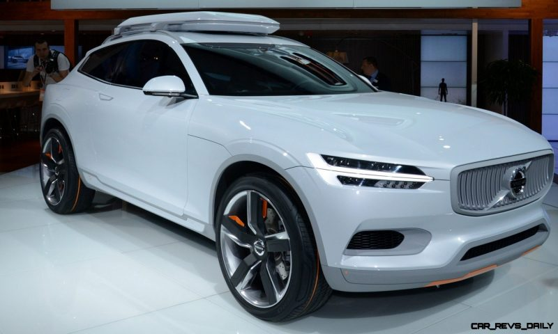 Volvo XC Coupe Concept Looking Ready for Summit County, Colorado 3