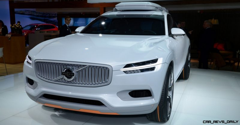 Volvo XC Coupe Concept Looking Ready for Summit County, Colorado 7