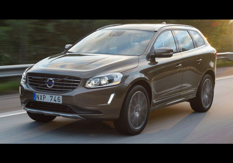 XC60 T6 AWD Exterior Bronze ANIMATED GIF CarRevsDaily