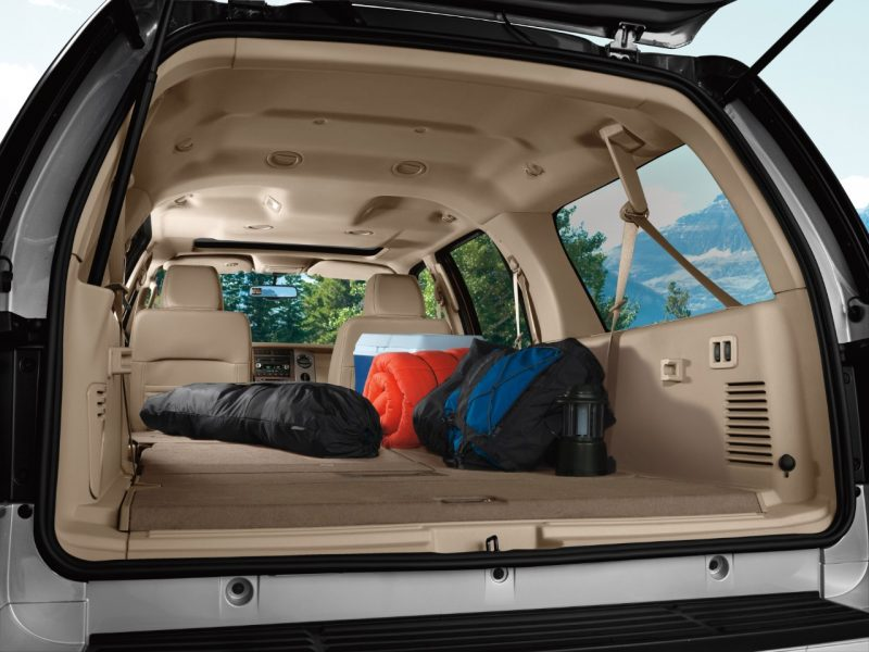 2013 Expedition Cargo Area shown.