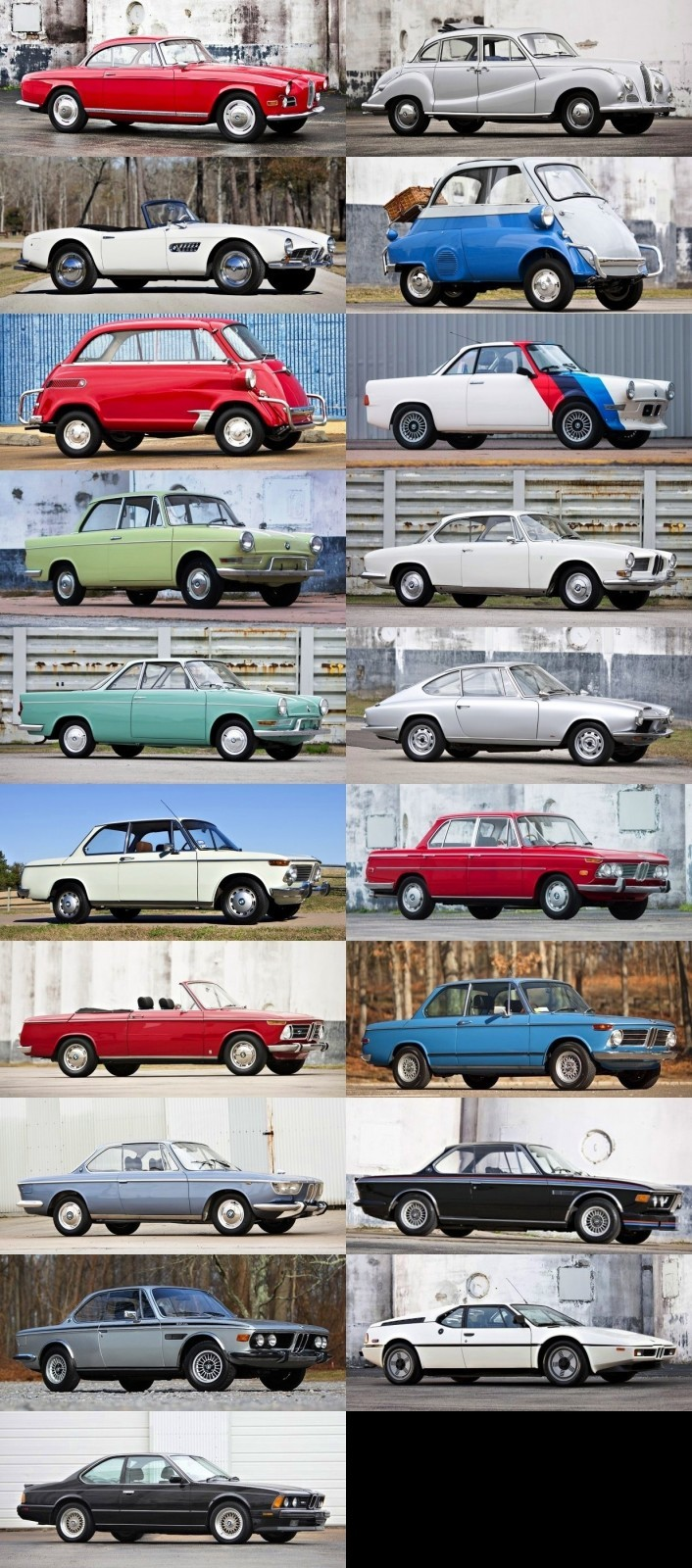 18 Sublime Retro BMWs to Brighten Your Day -- Gooding & Co-tile