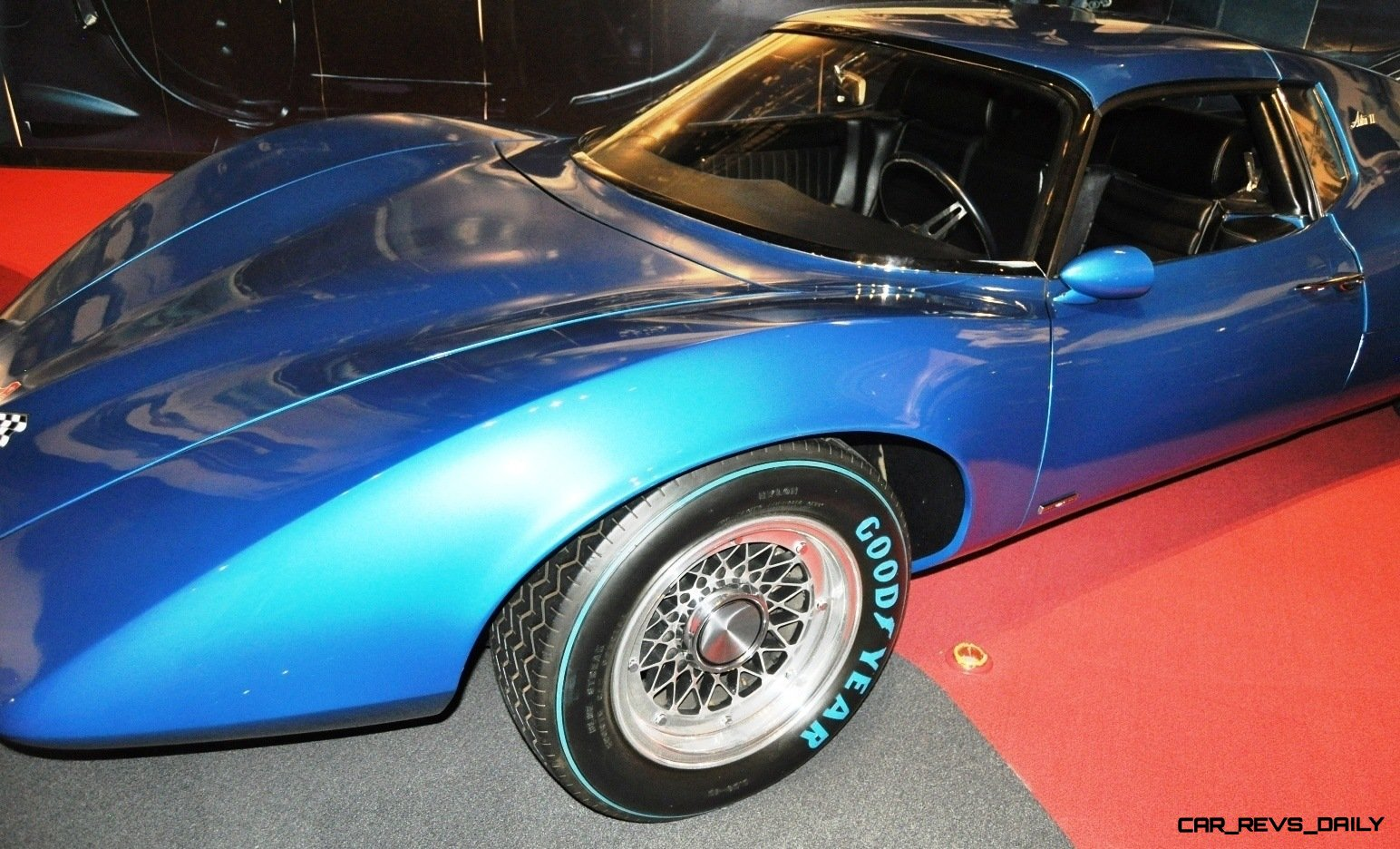 1968 Corvette ASTRO and ASTRO II Concepts at the National Corvette Museum + Ferrari and Bugatti-style Concepts 16