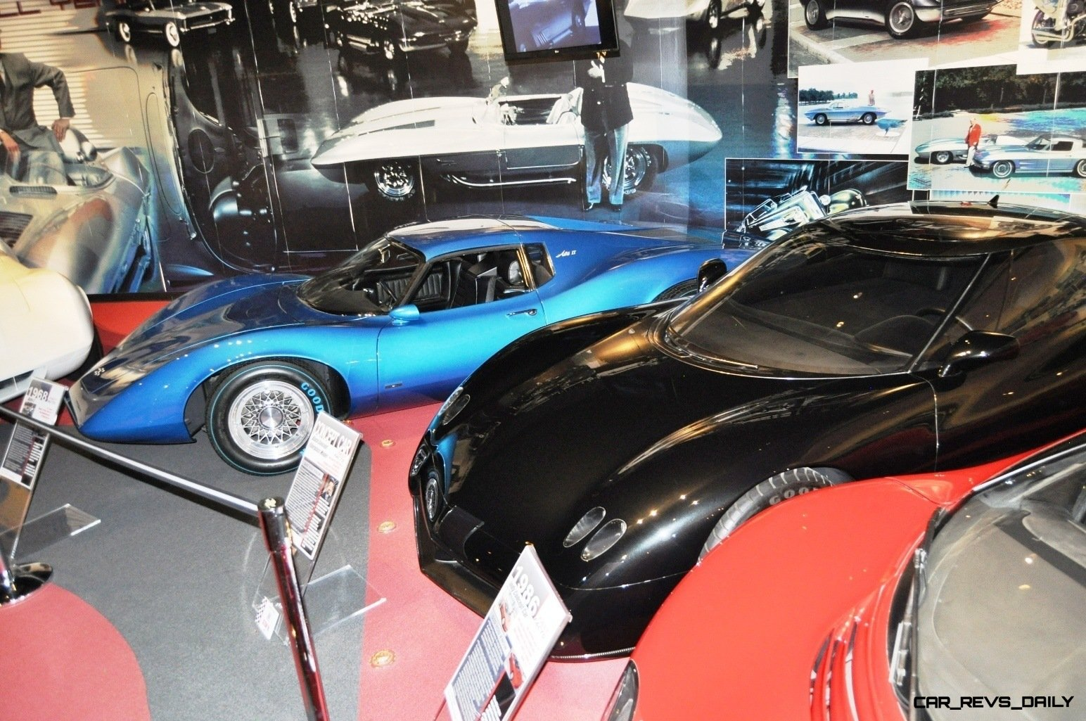 1968 Corvette ASTRO and ASTRO II Concepts at the National Corvette Museum + Ferrari and Bugatti-style Concepts 32