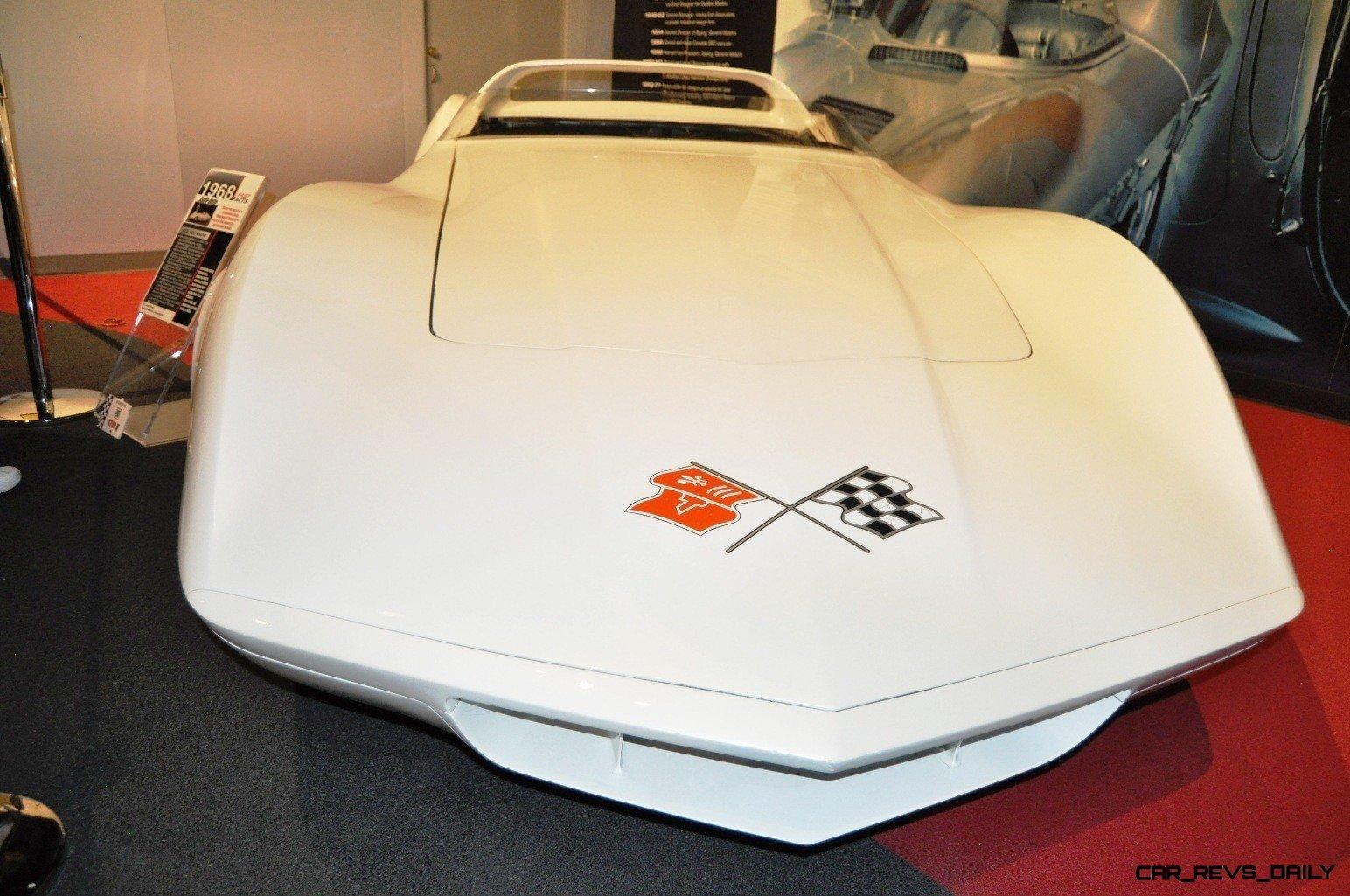 1968 Corvette ASTRO and ASTRO II Concepts at the National Corvette Museum + Ferrari and Bugatti-style Concepts 9