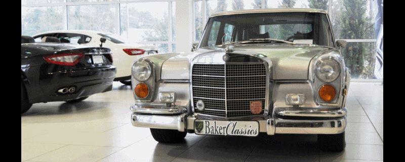 1970 Mercedes-Benz 600 Pullman SWB GIF