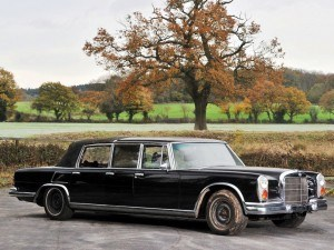 1971 Mercedes-Benz 600 Pullman Six-Door Landaulet - RM Auctions Paris 2014 - 2