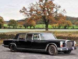 1971 Mercedes-Benz 600 Pullman Six-Door Landaulet - RM Auctions Paris 2014 - 2