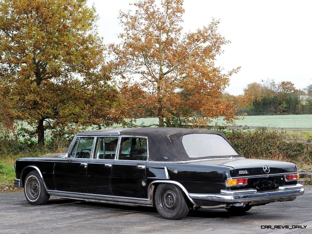 1971 Mercedes-Benz 600 Pullman Six-Door Landaulet - RM Auctions Paris 2014 - 4