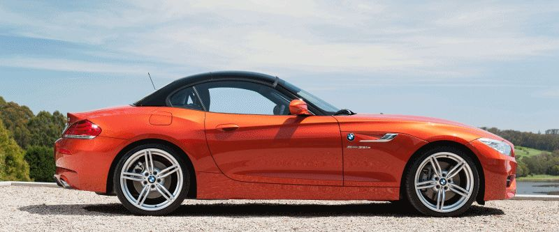 2014 BMW Z4 Roof Animatied GIF