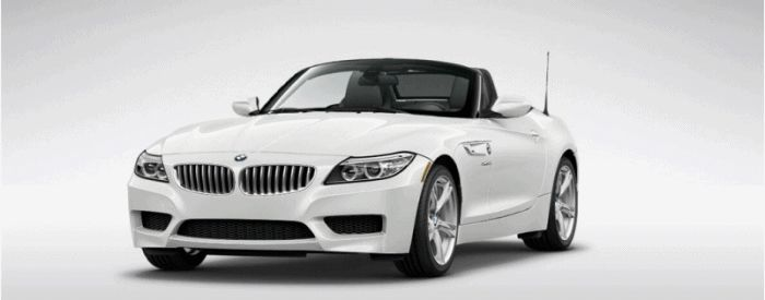 2014 BMW Z4 Turntable sDrive35i White Animated 4GIF