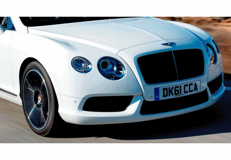 2014 Bentley GTC V8 Animated GIF