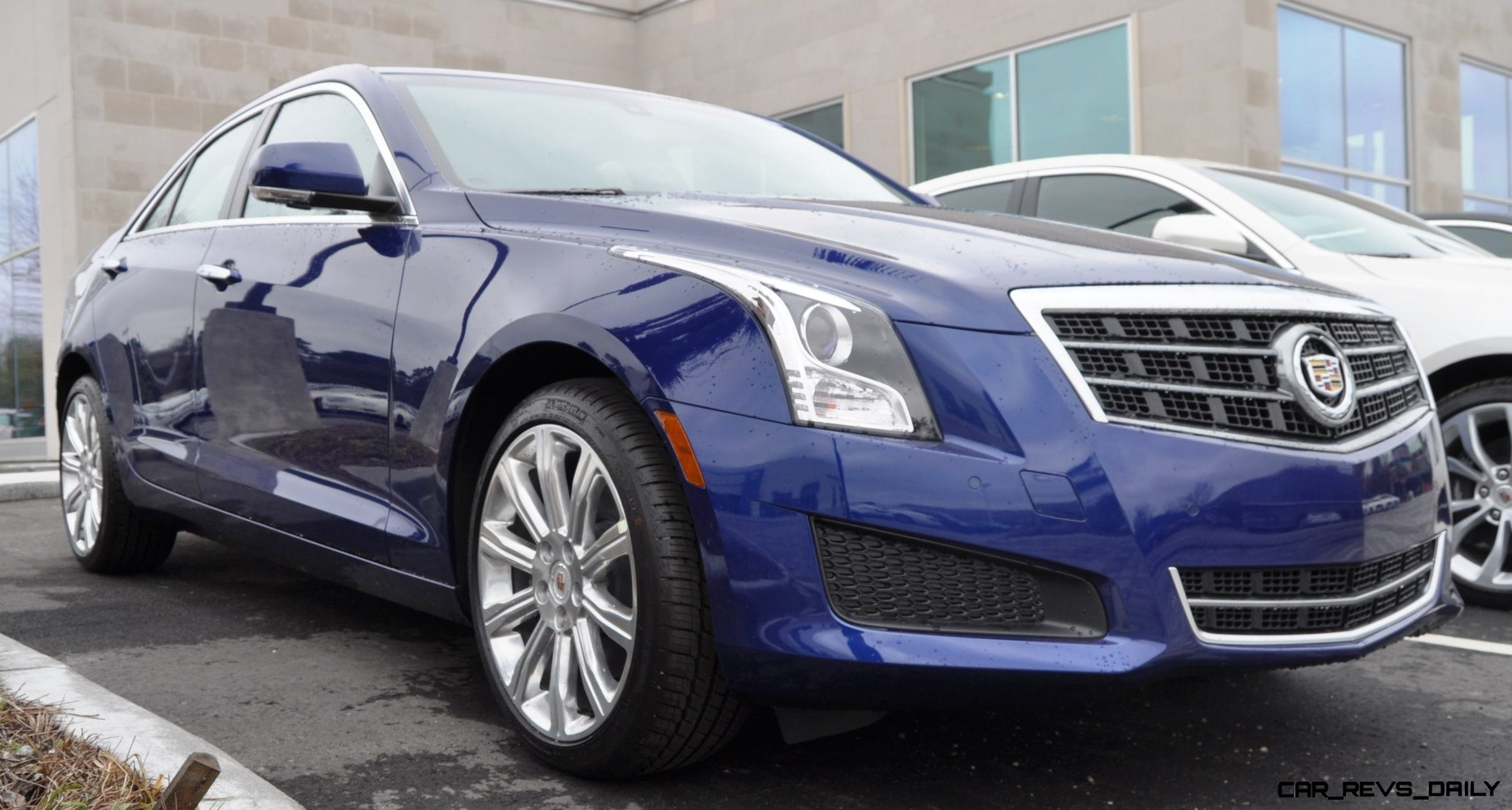 2014 Cadillac ATS 2.0T and CTS Vsport in High-Resolution Photos + Turntable Animation