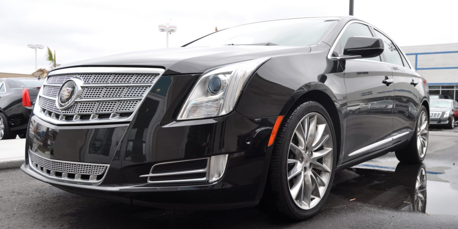 2014 Cadillac XTS4 Platinum Vsport -- First Drive Video and Photos 12