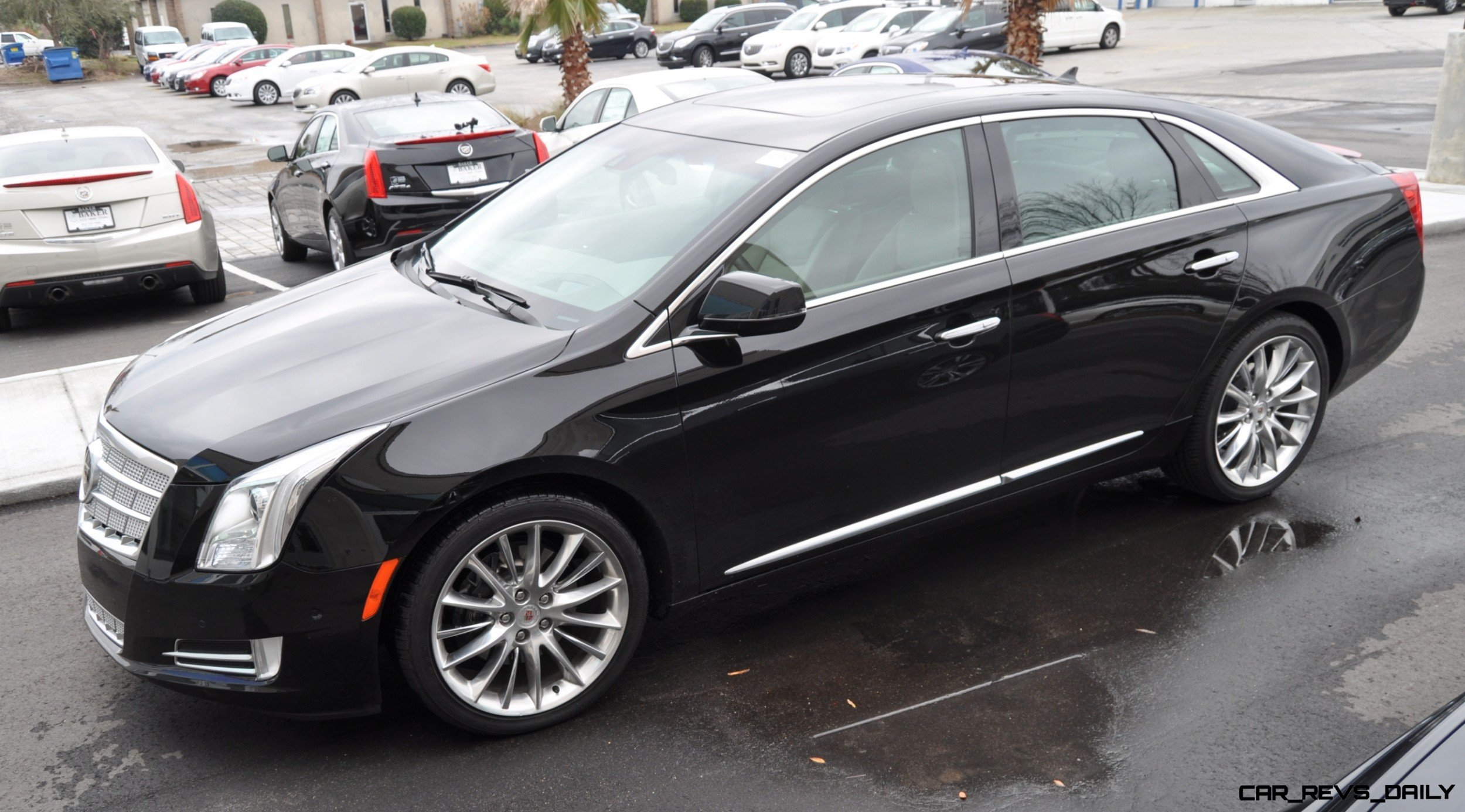 2014 cadillac xts4 platinum vsport first drive video and photos 16