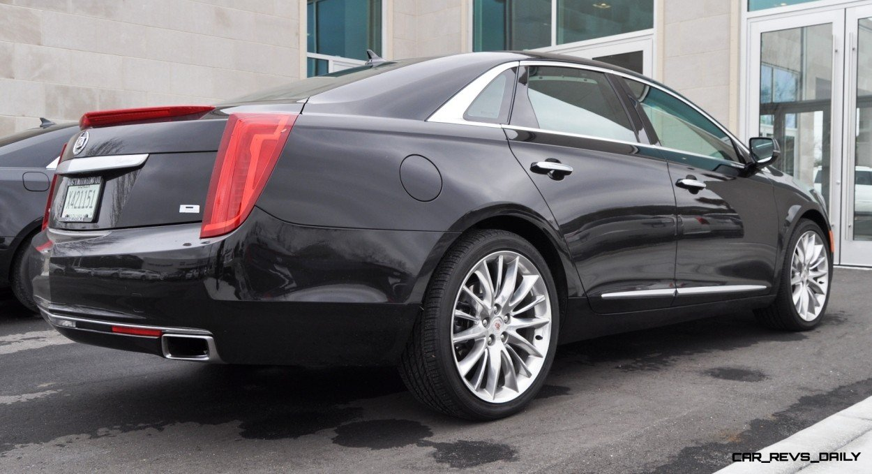 2014 Cadillac XTS4 Platinum Vsport -- First Drive Video and Photos 2