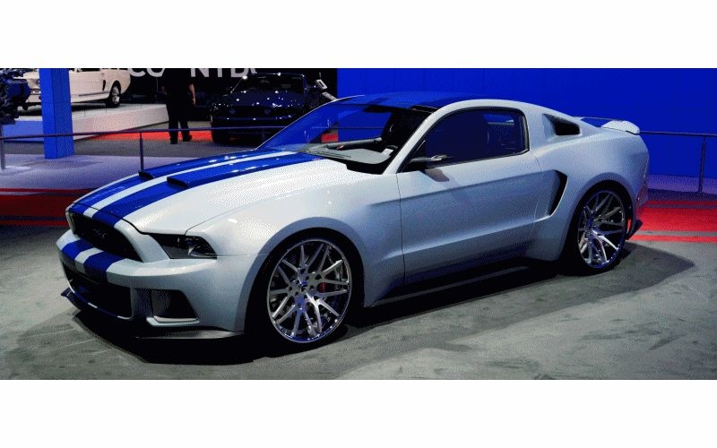 2014 Ford Mustang Official Homestead Pace Car GIF