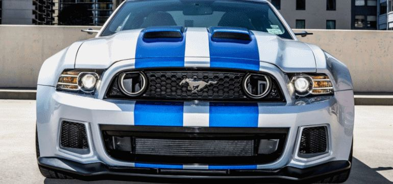 2014 Ford Mustang Official Homestead Pace Car NFS GIF